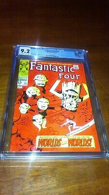 FANTASTIC FOUR 75 CGC 9.2 Silver Surfer And Galactus Appearances • 58$
