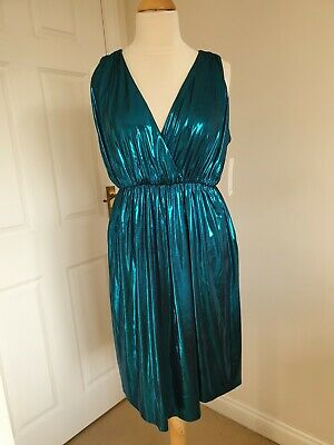 Zara Party Sparkly Dress New With Tags Size Large Best Fits UK Size 12 Or 14 • 13.34$
