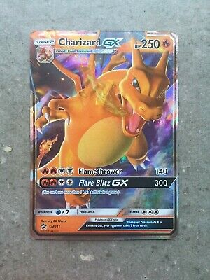 AU17.99 • Buy Pokemon TCG Cards Charizard GX SM211 Hidden Fates Tin Ultra Rare Promo Holo NM