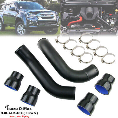 AU129 • Buy 2.5  Black Turbo Intercooler Piping Pipe For Isuzu D-Max RC 3.0L 4JJ1 2017-ON