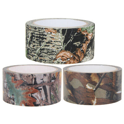 £6.36 • Buy 10m Waterproof Camo Gun Hunting Camping Camouflage Stealth Tape Wrap UK