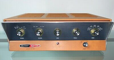 Heathkit AA-151 Stereo Tube Integrated Amplifier Amp Clean Unit Working 6BQ5 • 285$