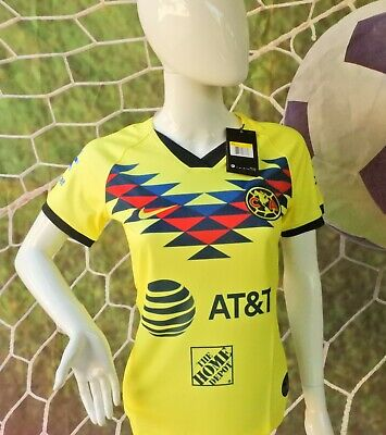 WOMEN'S LIGA MX CLUB AMERICA Local Amarilla / Home JERSEY 2019/2020 • 30.95$