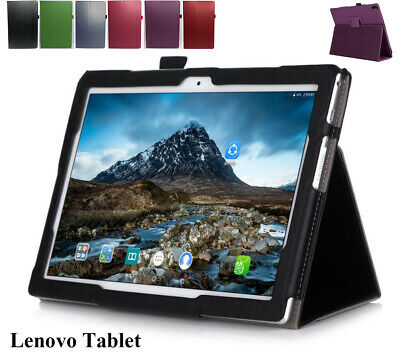 AU12.93 • Buy Lenovo Tab E10 M10 P10 10.1  Inch Tablet Leather Flip Folding Stand Case Cover A