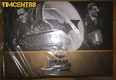$ CDN961.76 • Buy Hot Toys MMS275 Batman Dark Knight Rises 1/6 John Blake Jim Gordon Bat Signal