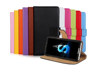 AU5.99 • Buy Samsung Galaxy Case - S8 S9 S9plus Magnetic Wallet Leather Case Flip Stand Cover