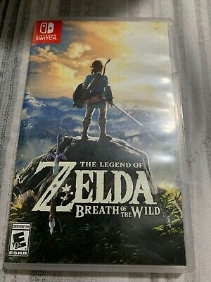 Legend Of Zelda: Breath Of The Wild Nintendo Switch  Brand New Ready To Ship! • 40$