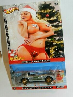 Hot Wheels Custom Corvette Grand Sport Sexy Merry Christmas Real Riders • 14.99$