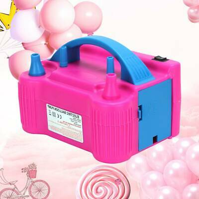 £17.29 • Buy 2Nozzle Party Portable 600W Electric Balloon Pump Inflator Air High Power Blower