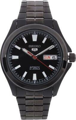 $ CDN162.93 • Buy Seiko Men's Automatic SNKL13K1 Black Dial Analog Water Resistant Wrist Watch