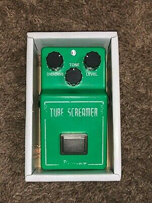 Ibanez TS808 Tube Screamer Overdrive Pro Distortion Guitar Effect Pedal • 119$