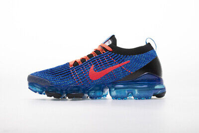Nike Air VaporMax Flyknit 3.0 2019 Mens Running Shoes Sneakers Trainers Blue • 150.19$