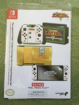 Nintendo Switch The Legend Of Zelda Skin And Protector Set Brand New • 18.99$