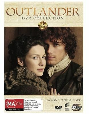 AU38.76 • Buy Outlander : Season 1-2 (DVD, 2016, 12-Disc Set, Widescreen)