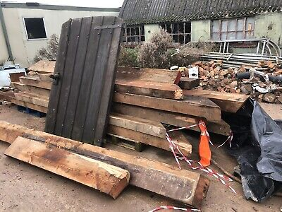 RECLAIMED GATE TIMBER/WOOD INFILL GATE,with Steel Post • 360£