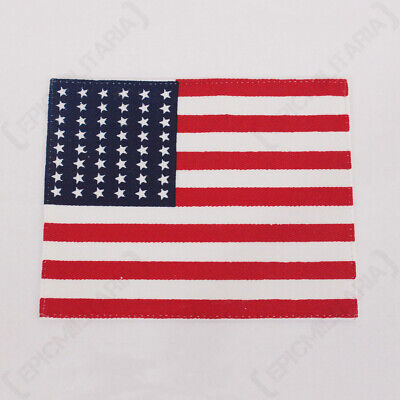 £5.45 • Buy US Flag Patch - American WW2 Reproduction 48 Star Patch/Badge For Uniforms