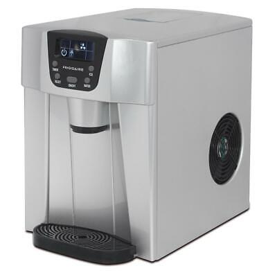 Frigidaire 26 Lbs. Freestanding Ice Maker And Water Dispenser In Silver • 173.99$