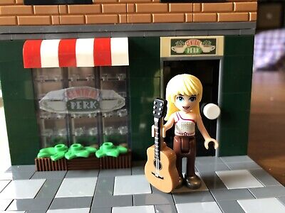 Custom Lego Modular Friends Central Perk Set Inspired By 21319, With Minifigure • 49.99$