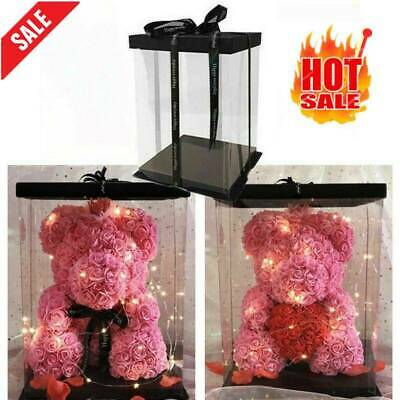 AU6.56 • Buy Rose Bear Artificial Flowers Wedding Birthday Valentine Gifts Box(only Box)