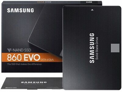 """View Details 250GB And 500GB And 1TB Internal SSD - Samsung EVO 860 2.5"""" • 124.99£"""
