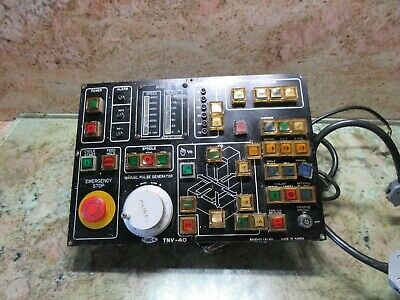 $278.73 • Buy Tong Il Tnv-40 Cnc Vertical Mill Main Operator Control Panel B430-01121-00