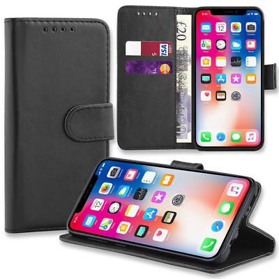 $ CDN6.73 • Buy Case For IPhone 12 11 8 7 6 5 Plus MAX XR SE 2 Luxury Leather Flip Wallet Cover