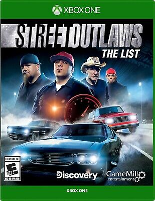 Street Outlaws The List - Xbox One Brand New!!! Sealed, Unopened! • 38.97$
