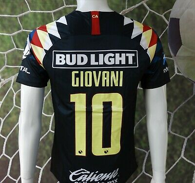 Liga Mx Club America Giovani Visitante Azul Jersey 2019/2020 (new With Tags) • 32.95$