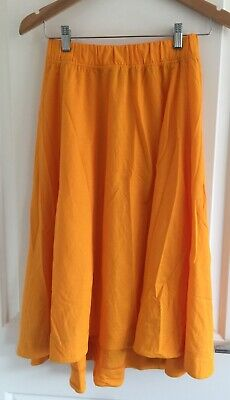 AU12.57 • Buy UNIQLO Yellow Midi  Skirt, Size XS New