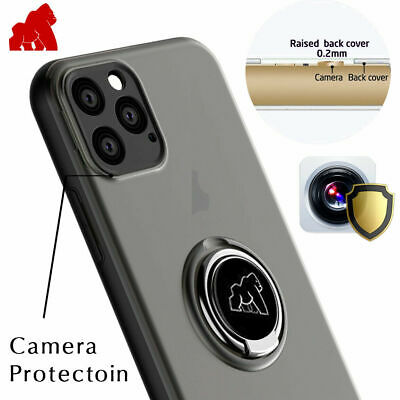 AU10.72 • Buy IPhone 8 Plus Gorilla Case With Finger Ring Stand Shockproof Cover