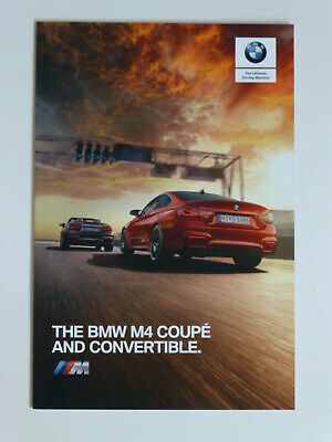 $13.14 • Buy BMW  M4 Coupe - Convertible 2018 Sales Brochure