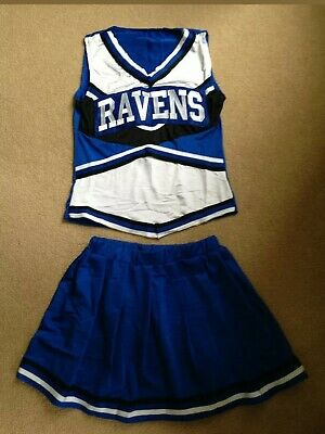 Womens Ladies Cheerleader Costume - Full Outfit Size M (8-12)One Tree Hill Style • 21.99£