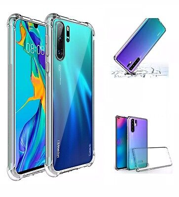 Case For Huawei P40 P30 Pro Lite Shockproof Bumper Hybrid Protective Clear Cover • 2.45£
