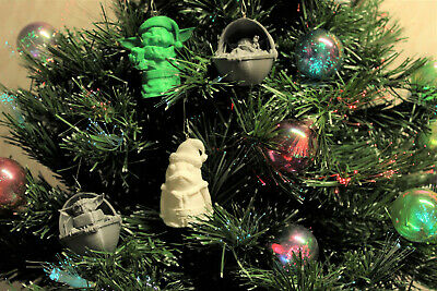 $10 • Buy Christmas Baby Yoda Porg Ornaments