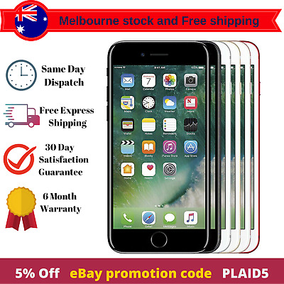 AU317.99 • Buy IPhone 7 Unlocked Used Pre Owned Smart Mobile Phone In Original Condition AU