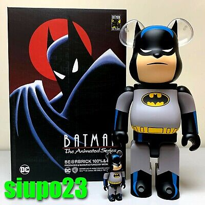 $399.99 • Buy Medicom 400% + 100% Bearbrick ~ BATMAN ANIMATED Be@rbrick