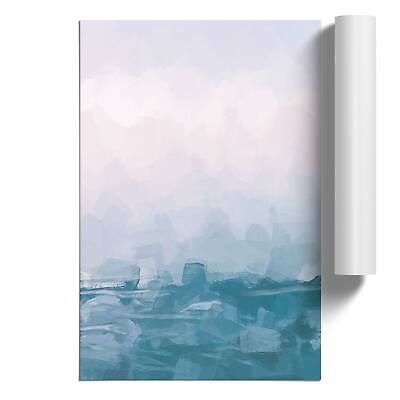 Lake Garda Italy In Abstract Wall Art Poster Print Landscape Nature • 12.95£