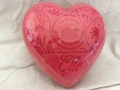 French Soap, Savon De Marseille, Heart Soap, 100g, Gorgeous Fragrance • 2.50£