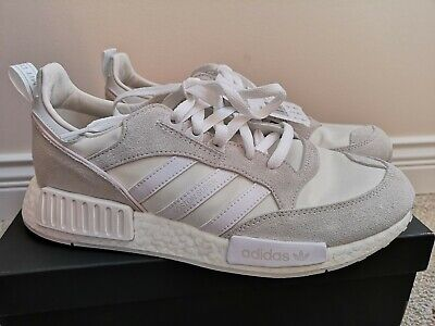$ CDN89.99 • Buy Adidas Boston Super X R1 Shoes Size 9.5US - White And Grey , Only Tried In Home
