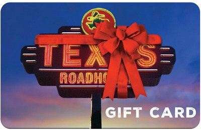 $38.85 • Buy $50 Texas Roadhouse Gift Card - 23% OFF - NEVER EXPIRES (EMAIL DELIVERY ONLY)