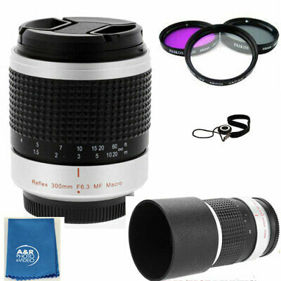 $ CDN167.59 • Buy 300mm F/6.3 Super Telephoto Mirror Macro Lens KIT F Sony A6500 A7 A7r A7s  A6400