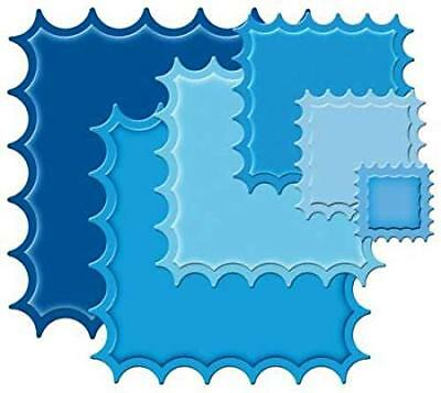 Spellbinders NESTABILITIES Small Classic Inverted Scalloped Square --  6 Dies • 12.99£