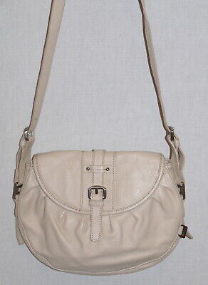 Il Tutto Beige Leather Bag Needs Repair • 5£