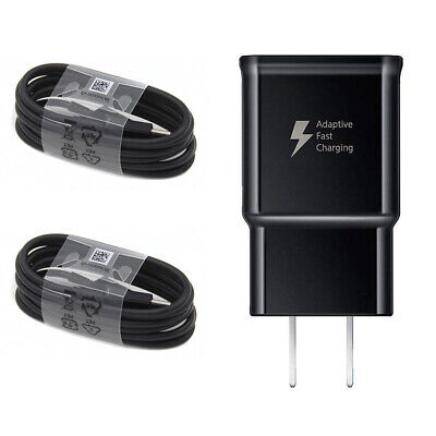 $ CDN2.43 • Buy For OEM Samsung Galaxy Note8 S8 S9 S10 Plus Fast Wall Charger 4FT Type-C Cable