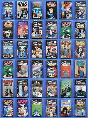 Doctor Who Target Novel Novelisations Books Paperback Collection Classic Series • 24.99£