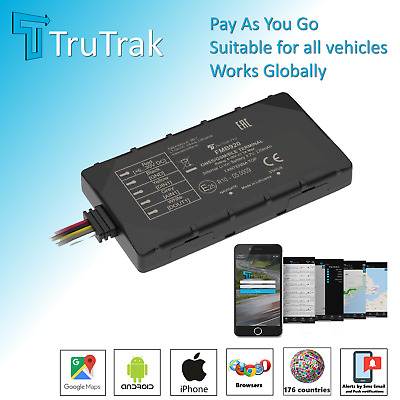 TruTrak GPS Tracker  - Car Van Caravan Truck Vehicle Tracking Device -  PAYG • 34.95£