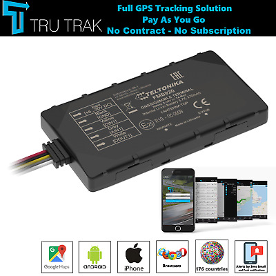 £34.98 • Buy TruTrak GPS Tracker - Real Time Vehicle Car Van Tracking Device System - PAYG
