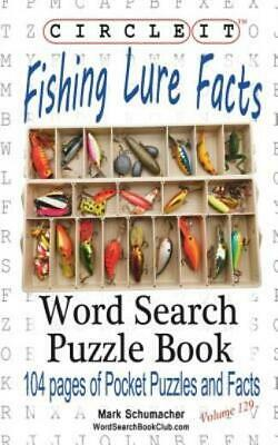 £10.52 • Buy Circle It, Fishing Lure Facts, Word Search, Puzzle Book