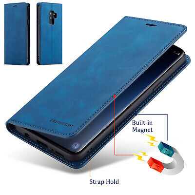 $ CDN7.99 • Buy For Samsung Galaxy S9 S8 Plus S7 Edge Luxury Leather Case Magnetic Wallet Cover