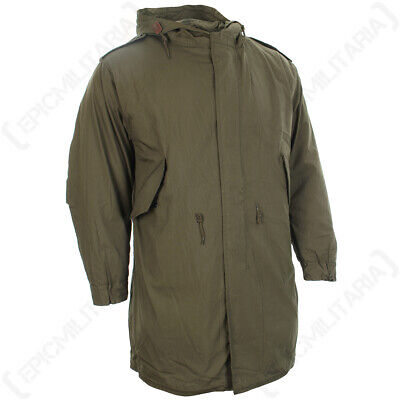 $145.95 • Buy NEW Vintage US M51 Parka With Liner Olive Drab Lined Winter Classic MOD Fishtail